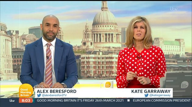 Alex Beresford Co-Hosts Good Morning Britain Following Tumultuous Times