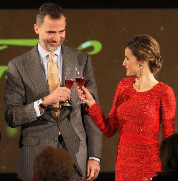 Felipe y Letizia, en el 100º aniversario de Freixenet.