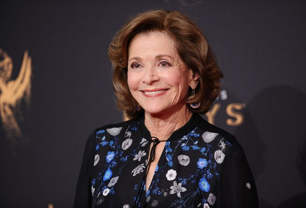 Jessica Walter at the Emmys in