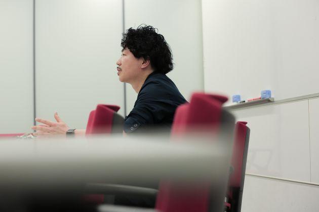 白川大介さん。あの日のことについて、話してくれた。