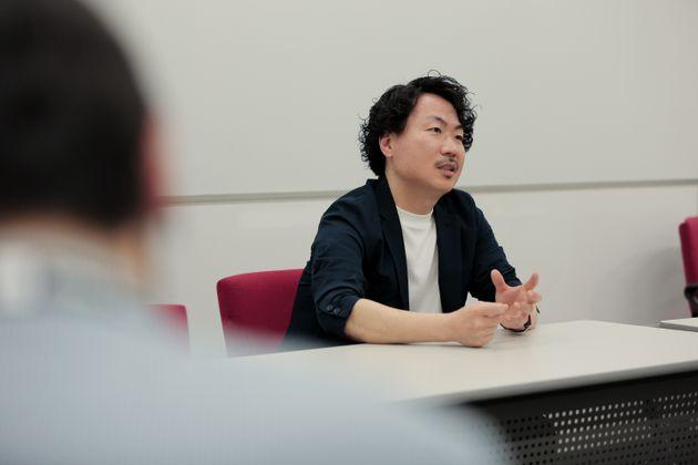 白川大介さん。これまでの葛藤についても話してくれた。
