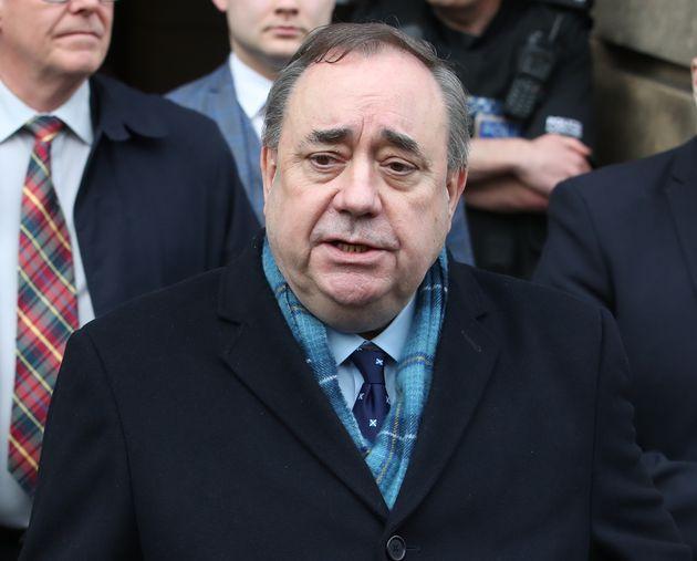 Former first minister of Scotland Alex