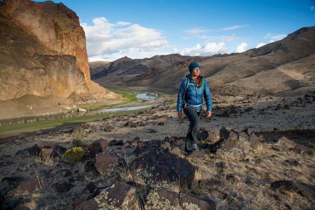 Corie Harlan is an environmental conservationist who has been trying to secure federal protection for the Owyhee.