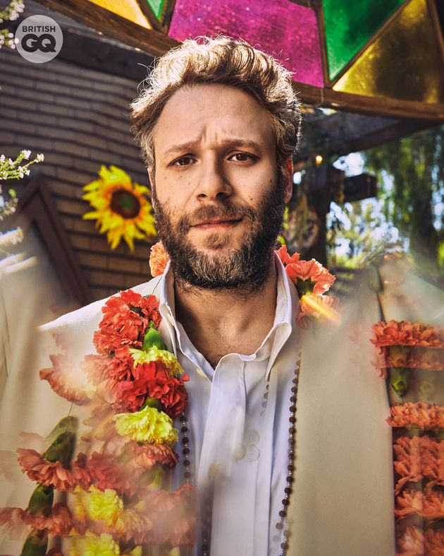 Seth Rogen in his GQ photo-shoot