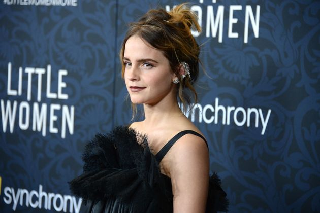 Emma Watson at the premiere of Little Women in 2019