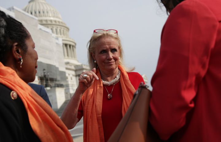 "Rep. Debbie Dingell (D-Mich.) is the lead sponsor of the THRIVE Act in the House. ""The people that were the glue that held th"
