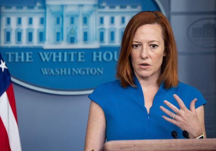 White House Press Secretary Jen Psaki tells Fox reporter Peter Doocy like it is.