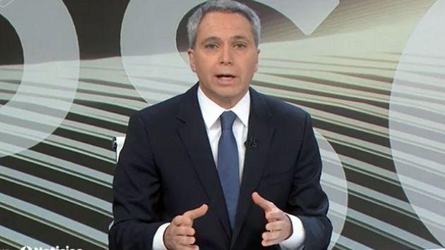 Vicente Vallés, presentador de 'Antena 3