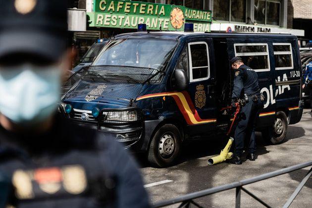 La Policía Nacional, en
