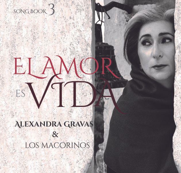 Το εξώφυλλο του νέου άλμπουμ της Αλεξάνδρα Γκράβας