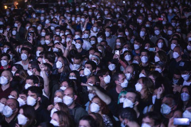 Συναυλία - πείραμα στην Ισπανία με 5.000
