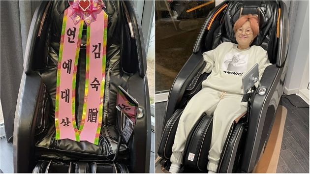 김숙이 송은이에게 선물한 안마