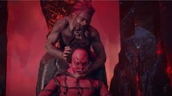 Le rappeur Lil Nas X répond à ses détracteurs après son clip