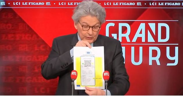 Thierry Breton a présenté ce dimanche 28 mars le futur