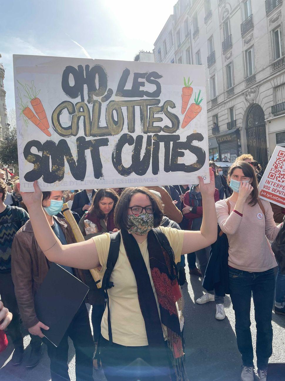 La manifestation à Paris pour une