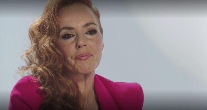 Rocío Carrasco en una imagen de la docuserie 'Rocío, contar la verdad para seguir viva'