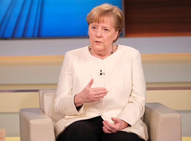 Angela Merkel, este domingo en la televisión
