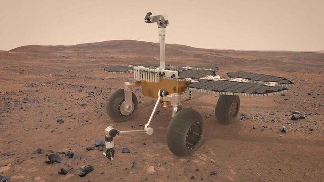 형상기억합금 타이어를 쓰면 화성탐사 로버의 바퀴를 4개로 줄일 수