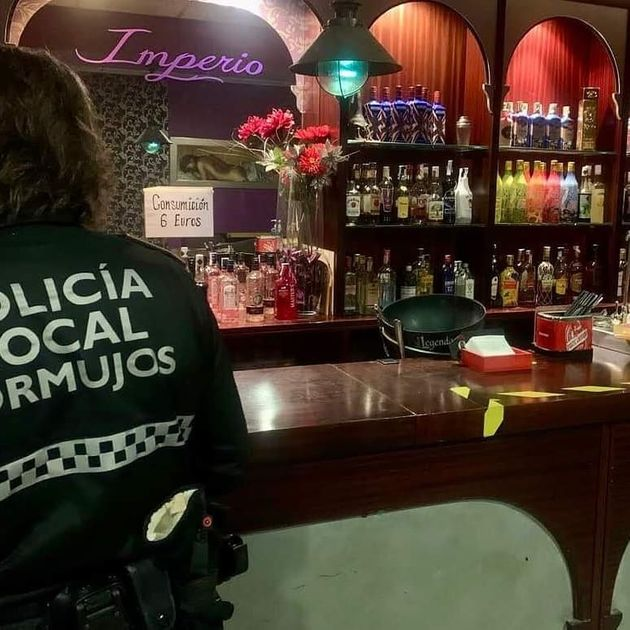 La Policía Local de Bormujos, en el local de intercambio de