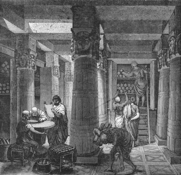 Βιβλιοθήκη της