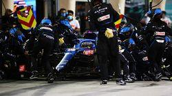 Au GP de Bahreïn, Alonso obligé d'abandonner à cause... d'un emballage de