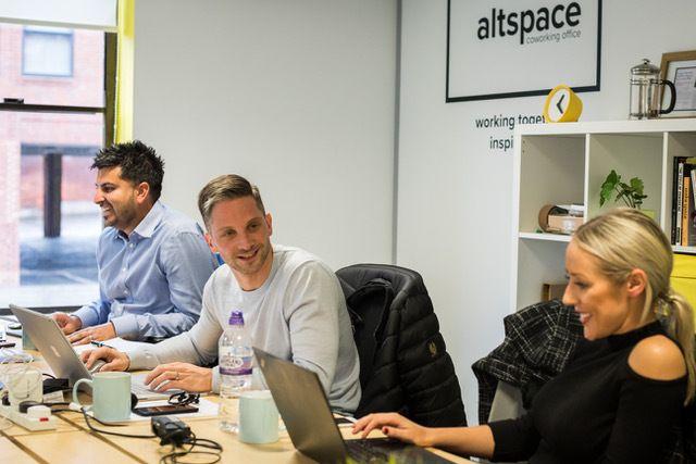 AltSpace, where Fiona Chow works.