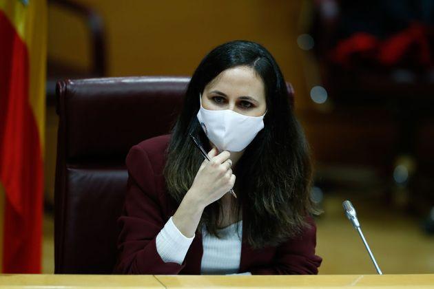 La secretaria de Estado de Derechos Sociales, Ione Belarra, el pasado 11 de diciembre en el