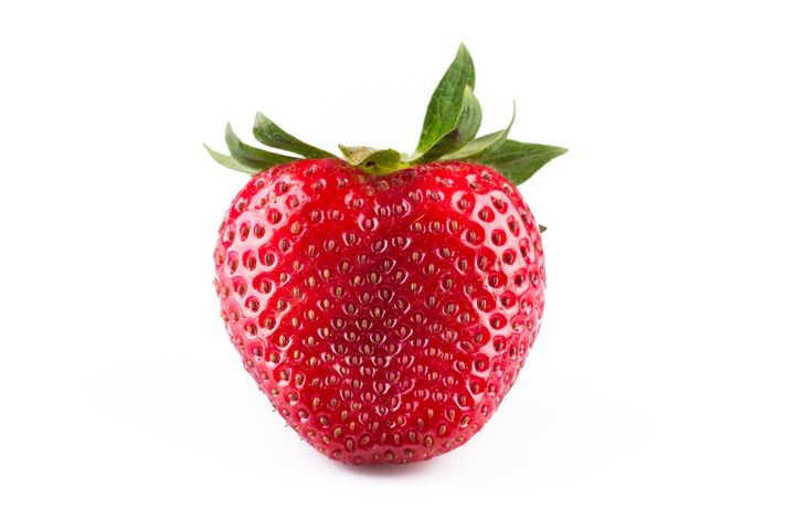 The pores on your nose can sometimes look a little more pronounced than you might like, reminding you of strawberry seeds.