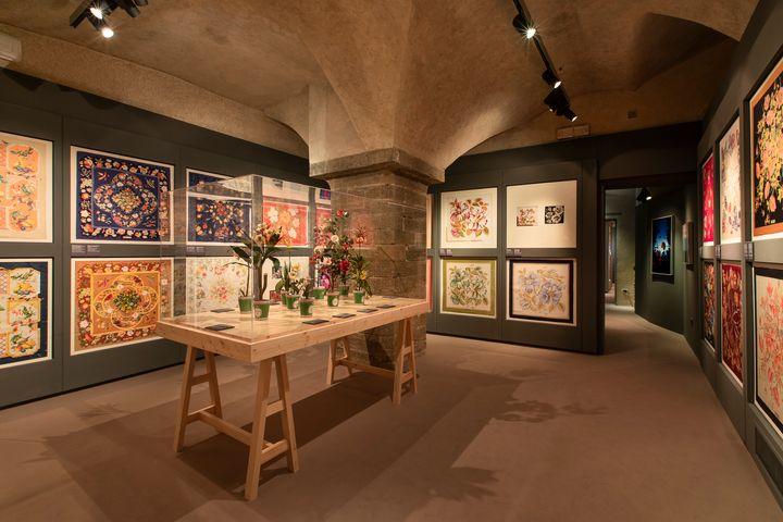 Una sala del Museo Salvatore Ferragamo.