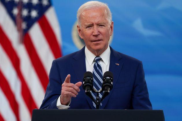 Joe Biden, ici s'exprimant à la Maison Blanche à Washington, le 29 mars
