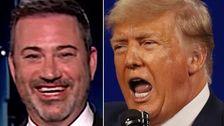 Jimmy Kimmel Mocks Trump's 'Babbling' Wedding Crasher Act: 'I Love This So Much'