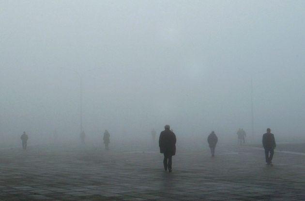 Φωτογραφία αρχείο - ομίχλη Θεσσαλονίκη