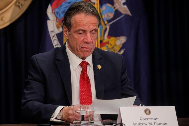 El gobernador de Nueva York Andrew