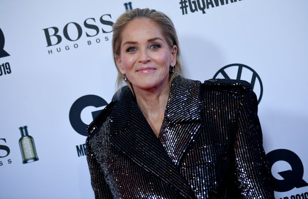 Sharon Stone pictured in