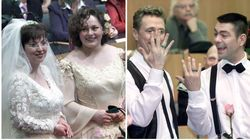 【画像】世界初の同性婚から20年。結婚の平等を喜んだ4組のカップルたち