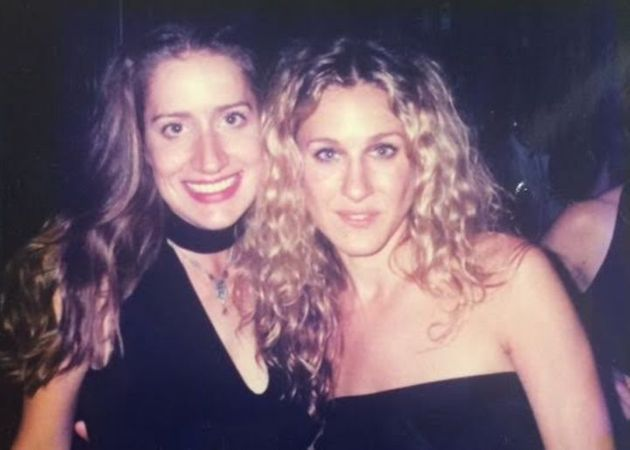 Heather Kristin en compagnie de Sarah Jessica