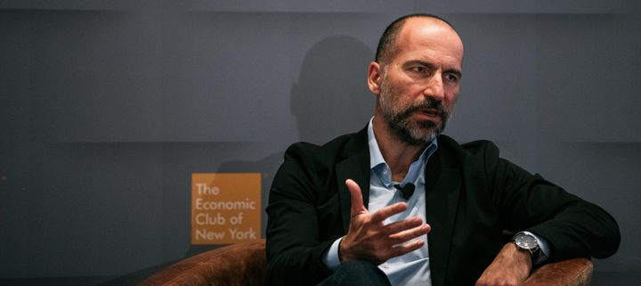 Uber CEO Dara Khosrowshahi says that classifying Uber drivers as employees would unravel the work environment that attracted