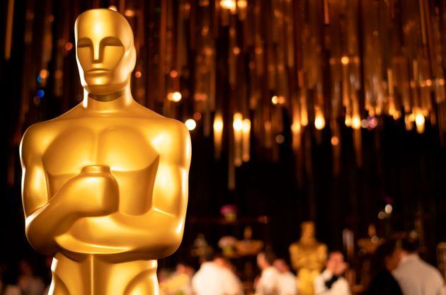 Une statue d'Oscar exposée lors de la cérémonie de remise de