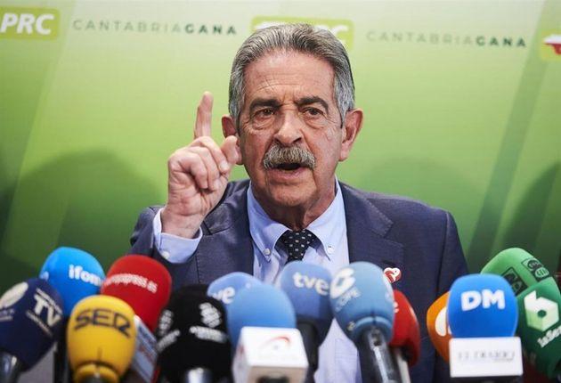 El presidente de Cantabria, Miguel Ángel