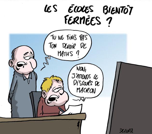 Macron va-t-il annoncer la fermeture des