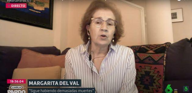 Margarita del Val, en una entrevista en La