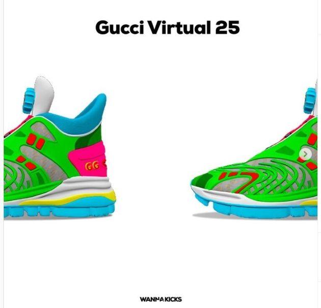 Ψηφιακά σνίκερς με την υπογραφή Gucci