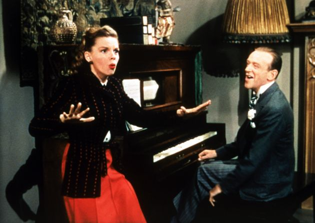 Judy Garland and Fred Astaire in Easter