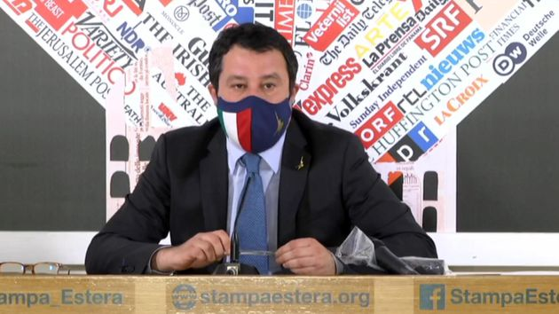Sulle riaperture Salvini si accoda a Draghi: