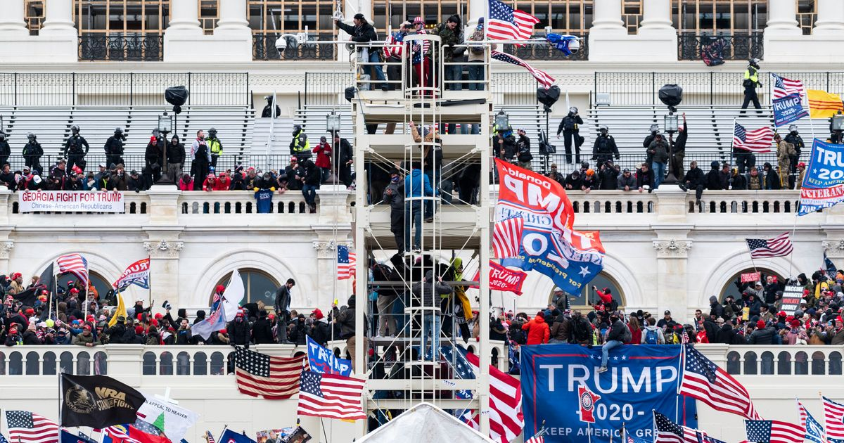 Capitol Police Officers Sue Trump For Physical, Emotional Injuries Suffered In Riot