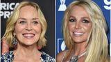Sharon Stone Britney Spears