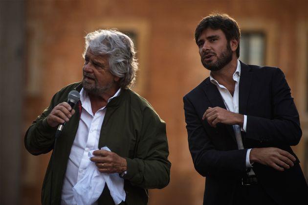 Beppe Grillo e Alessandro Di