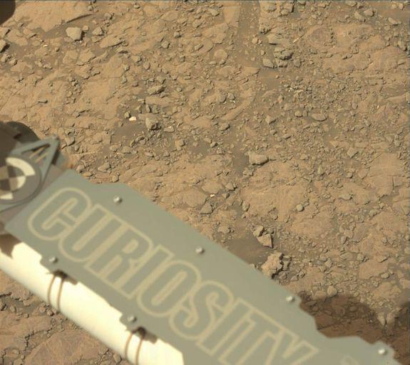 Imagen tomada por el rover Curiosity en