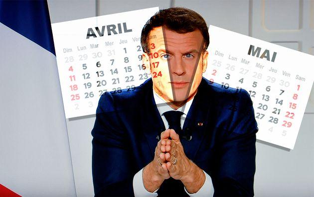 Les dates de vaccination, confinement et fermeture des écoles, revues par Emmanuel Macron