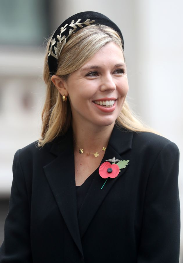 Carrie Symonds, partner of Britain's Prime Minister Boris Johnson, was appointed head of communications...